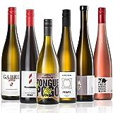 GEILE WEINE Weinpaket EINFACH TRINKEN II (6 x 0,75l) Probierpaket mit Weißwein, Rosé und Rotwein von Winzern aus Deutschland und Italien