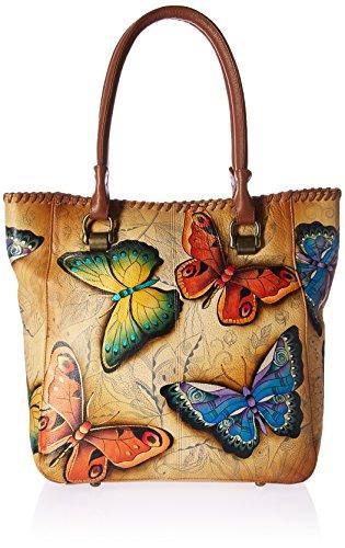Anuschka Damen Umhänge-Handtasche, Earth Song, Einheitsgröße (Anuschka Handtaschen Leder)