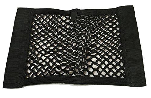 2x Klettverschluss Extra Netz Staufach mehr Platz KFZ LKW Auto Kofferraum Netz Tasche Ablagefach – Gepäcknetz 40x25,5cm – einfach anzubringen