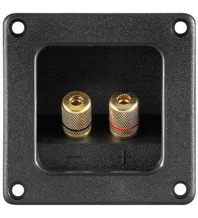 Lautsprecher Terminal 2 pol. 5.9x75.9mm Metall Kappen