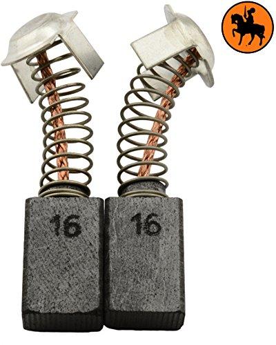 Buildalot Specialty Kohlebürsten ca-17-55647 für Hitachi Hobelmaschine F-30A - 7x11x17mm - Mit automatischer Abschaltung - Ersatz für Originalteile 981612Z, 999043 & 999073