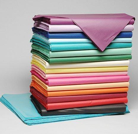 Seidenpapier 16 cm x16 cm, 500 Blatt, sortiert