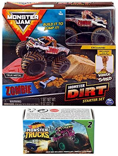 Hot Wheels Dirt Truck Zombie Crew Monster Jam Kit Action 2019 Jump -