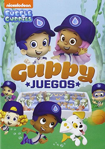 Bubble Guppies: Guppy Juegos [DVD]