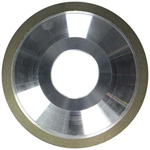 """hhip d12V9Gericht Diamant Räder (verschiedene Durchmesser: 10,2cm–15,2cm), 4"""" Diameter, 1/2"""" Thickness, 1/16"""" Diamond Depth, 1"""