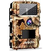 """Baberdicy Wildkamera mit Bewegungsmelder Nachtsicht, 12MP 1080P Nachtsichtkamera Fotofalle mit 2.4"""" LCD, 65ft Nachtsichtentfernung, Geeignet für Natur, Garten, Zuhause überwachung"""