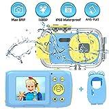 Kinderkamera Unterwasserkamera Full HD 1080P Kinderkamera Unterwasserkamera Kinder 2,0 Zoll TFT HD Bildschirm Kinder Kamera für Kinder Geschenke