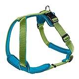 Hunter Hundegeschirr Neopren, Größe XL, hellgrün/petrol