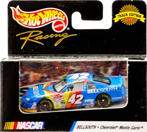 1999 - Mattel - Hot Wheels Racing - Track Edition - Joe Nemechek - #42 BellSouth - Monte Carlo - NASCAR - New - Out of Production - Limited Edition - Collectible