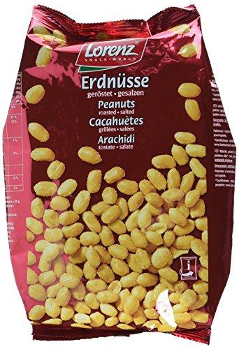 Lorenz Erdnüsse Geröstet und Gesalzen 1 kg, 6er Pack (6 x 1 kg)