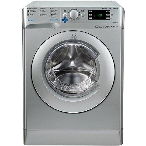 Indesit BWE91484XSUK Innex 9kg 1400rpm Freestanding Washing Machine-Silver