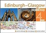 Edinburgh & Glasgow PopOut Map: pop-u...