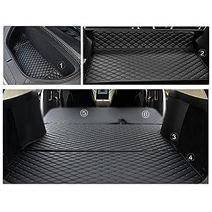 Servicio Pesado Rear Trunk Mat Caucho Negro Todo el Tiempo DokFin Alfombrillas para Maletero de Coche para Tesla Model 3 Accesorios