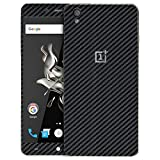 #2: Skin4gadgets Black Carbon Fiber Texture Phone Skin for ONE PLUS X