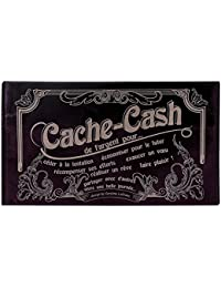 Pochette Cache Cash Caroline Lisfranc prune