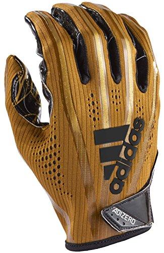 adidas Adizero 5-Star 7.0 American Football Receiver Handschuhe - metallic Gold Gr. M