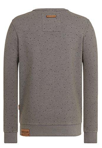Naketano Male Sweatshirt Cevapcici Günther III Heritage Dark Grey Melange