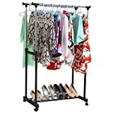 Best Laundry Racks - Heavy Duty Clothes Drying Rack, Double Pole Rail Review