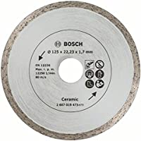 Bosch 125mm Diamond Disc for Tiles