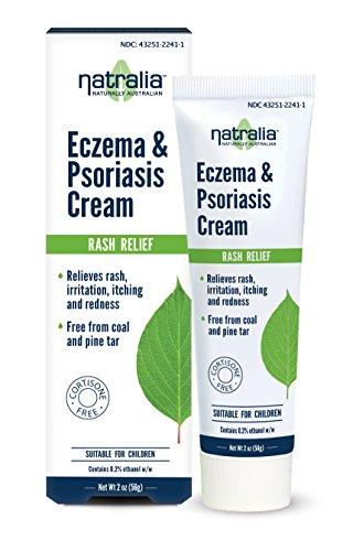 Natralia Eczema And Psoriasis Cream - Creme gegen Ekzeme, Psoriasis aus USA