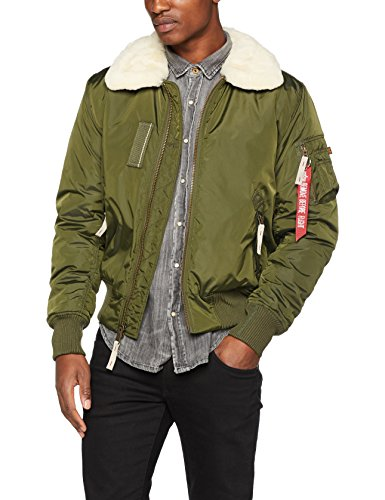 Alpha Industries Herren Jacke Injector Iii Grün (Dark Green 257)