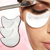 Gemini Mall, 50 dischetti protettivi monouso per occhi, strumenti per l'applicazione del trucco degli occhi