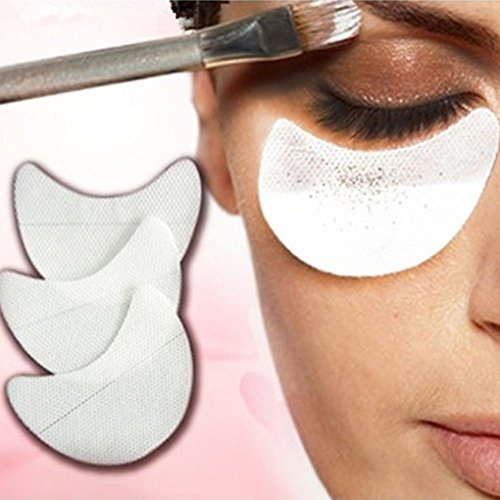 Gemini _ Mall® 50 Einweg Eye Shadow Shields Guard Pads Eye Make-up Anwendung Tools Shadow Protector