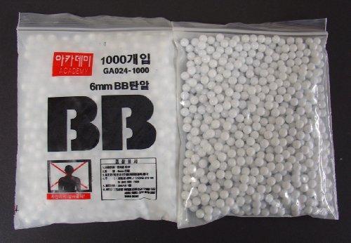 10.000 Kugeln Softair BB Basic Selection cal. 6 mm von Academy im BEUTEL !!!