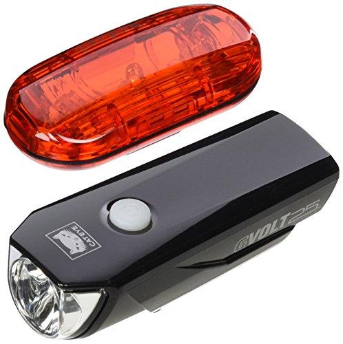 CATEYE Beleuchtungskit G Volt 25 HL-EL360GRC mit TL-LD135G, FA003522019 (Cateye Rücklicht-halterung)