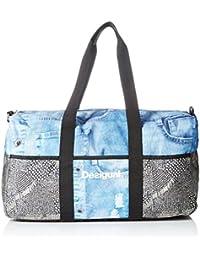 Desigual BOLS_LIFE BAG y, Bolsa de Medio Lado para Mujer, Dorado (6050 ORO Viejo), 25x30x52 cm (B x H x T)