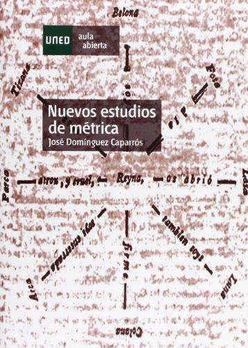 Nuevos Estudios de Métrica (AULA ABIERTA)