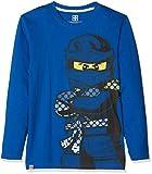 Lego Wear Jungen Langarmshirt Lego Boy Ninjago CM-73083, Blau (Blue 569), 116