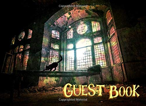 Guest Book: Not just for Halloween! Sign-in Guest Registry Book For Spooky Parties And Meetups (Spooky Events Books, Band 10) (Spiele Halloween Für Scary 10)