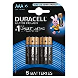 Duracell Ultra Power Pilas Alcalinas AAA, paquete de 6