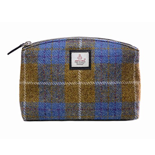 genuine-harris-tweed-cloudberry-ladies-cosmetic-bag-brown-check
