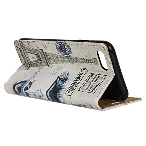 Coloré Motif PU Cuir portefeuille Housse Etui pour iPhone 7 (4,7 pouces) Case Coque Protection Flip Cover avec carte de crédit Slots (KW19#) KW15#