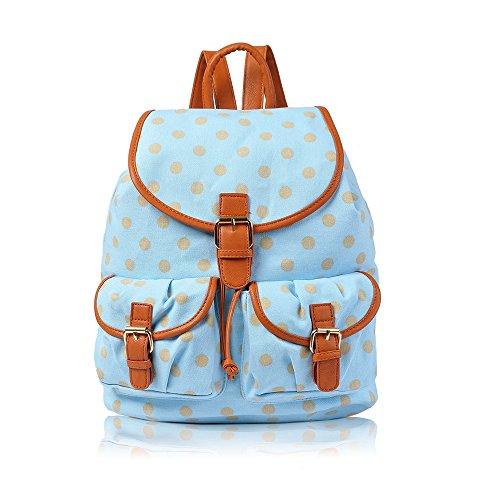 Beau Perry , Damen Rucksackhandtasche Blau