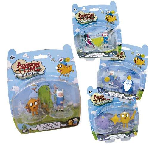 Hora De Aventuras Set 2 Figuras 5 Cms Adven Time (Simba) 5858479