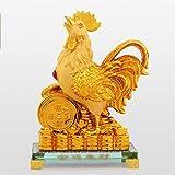 Liu Yu·Spazio Creativo,Resina Artigianato Oro Creativo 2017 Zodiac l'Decoration Mascotte Gallo
