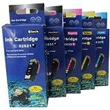 5 komp. XL Tintenpatronen für Epson Expression Premium Epson xp 510 520 600 605 610 615 620 625 700 710 720 800 810 820 1 x schwarz 1 x photoschwarz 1 x blau 1 x rot 1 x gelb