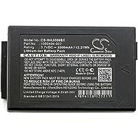 7525 original vhbw® AKKU BATTERIE 3.7V 3000mAh für PSION Teklogix 1050494 7525