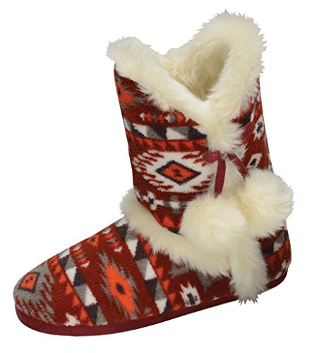 Pantofole Ammonta Adephe Dunlop Rosse Donna 7xURAKTqw