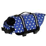 SILD Pet Life Jacket Taille réglable Chien Lifesaver Sécurité Gilet réfléchissant pour Animal Domestique Sauvetage Chien Saver Gilet de Sauvetage Manteau pour la Natation Surf Le Bateau la Chasse