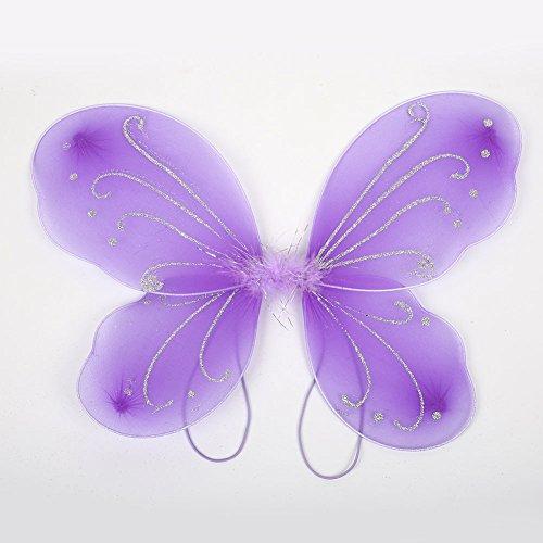 Schmetterlingsflügel Zubehör Kostüm DIY 10 Farbe Schön ()
