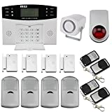 LCD DISCOBALL inalámbrico GSM notificándoles SMS HOME HOUSE OFFICE de seguridad antirrobo alarma contra ...