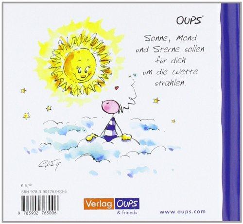Oups Minibuch - Danke: Ein wundervolles Büchlein, für alle