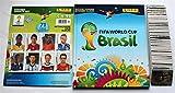 Panini WM 2014 Brasilien - Komplettsatz 640 Sticker + Hardcover Leeralbum + Set Updatesticker