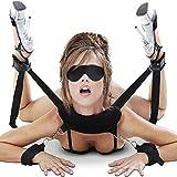 Cksohot Set Bondage Manette SM BDSM per Coppie, Maschi e Femmine - Nero