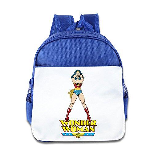 Wonder Woman kidâ & # €; TMS Schule Rucksack Pink Blau Königsblau ()