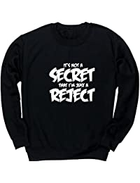 Hippowarehouse Secret That I'm Just a Reject Kids Children's Unisex Jumper Sweatshirt Pullover